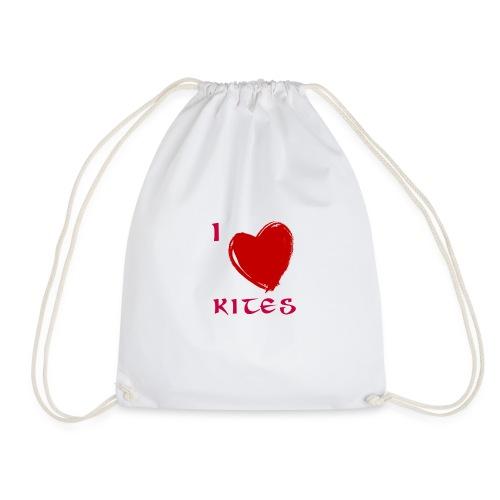love kites - Drawstring Bag