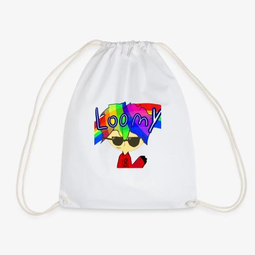 Loomy Plays Merch - Drawstring Bag