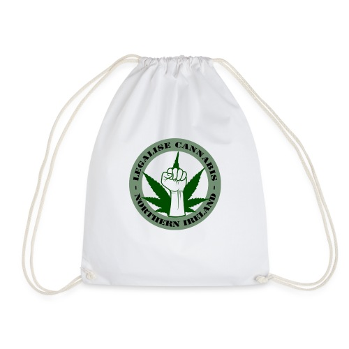 Legalise Cannabis - Northern Ireland - Drawstring Bag