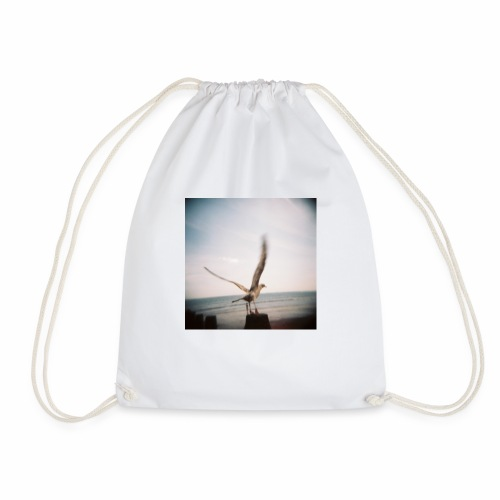 Original Artist design * Seagull - Drawstring Bag