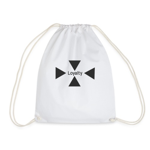 Loyalty logo big - Drawstring Bag