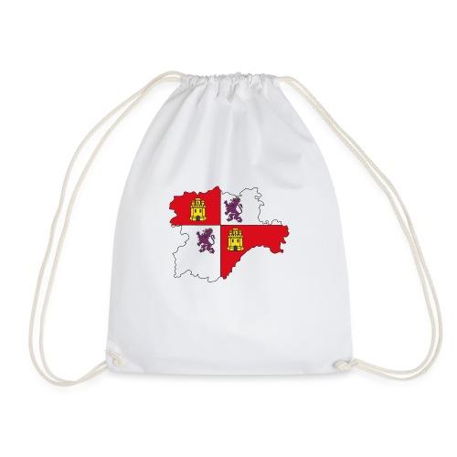 Logo Castellano leonés - Mochila saco