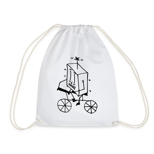bike thing - Drawstring Bag