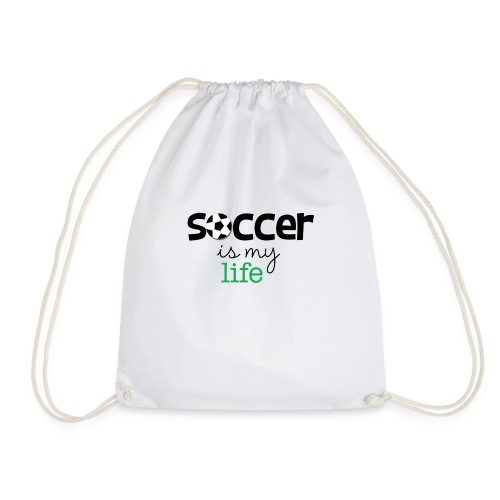 soccer is life - Mochila saco