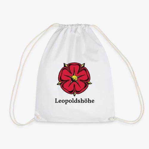 Lippische Rose mit Unterschrift Leopoldshöhe - Turnbeutel