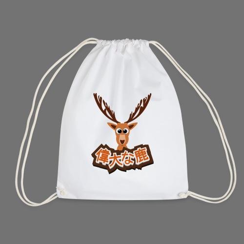 Stor hjorte (japansk 偉大 な 鹿) - Sportstaske