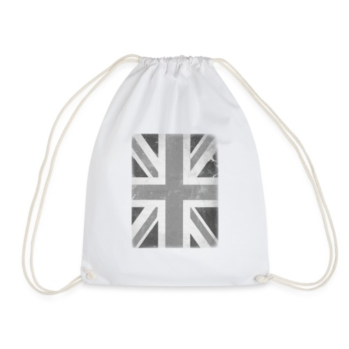 BW Union Jack - Drawstring Bag