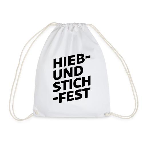 HIEB UND STICHFEST - Turnbeutel