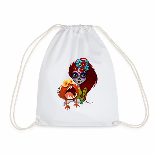 Catrina con Monstruo - Mochila saco