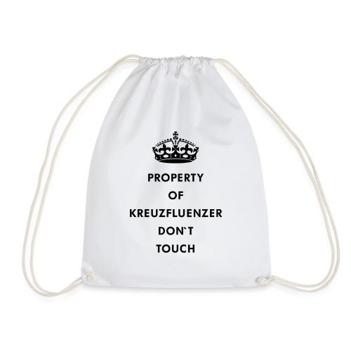 Kreuzfluenzer Don´t Touch Black - Turnbeutel
