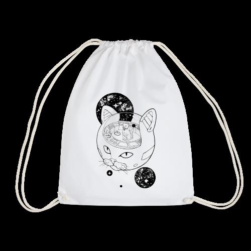 Kosmiczny Kot Imperator - Worek gimnastyczny