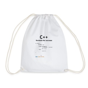 C++ Programmer's formula for success - Drawstring Bag
