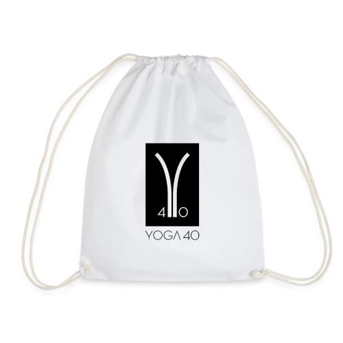 Y40 logotipo negro - Mochila saco