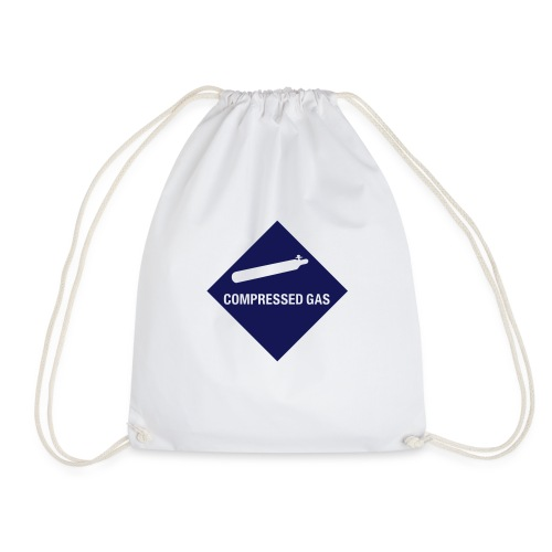 Compressed Gas - Drawstring Bag