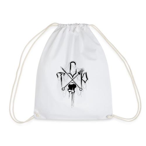 Small studio logo (black) - Drawstring Bag