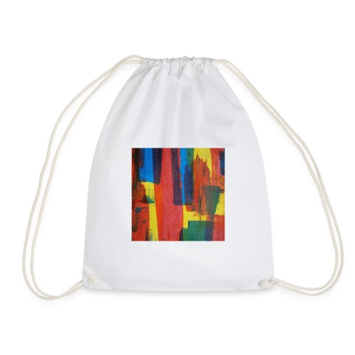 Abstract Primary - Drawstring Bag