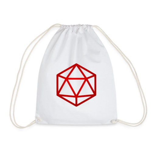 D20 Red - Gymtas