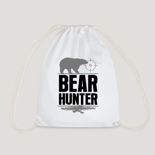 Jäger Shirt Bären Jäger - Bear Hunter Jagd Wild - Turnbeutel