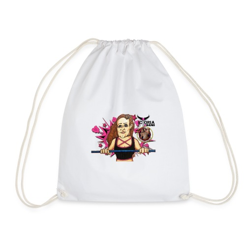 Victoria Adams Support Feel the Force - Drawstring Bag