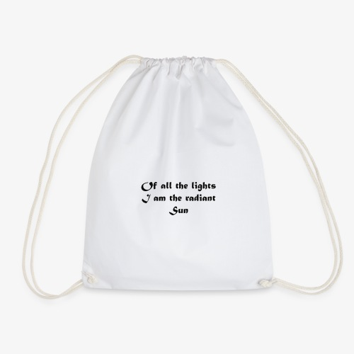 The Radiant Sun - Drawstring Bag