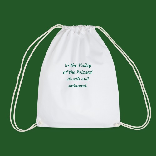 In_Valley_of_the_Wizard-png - Drawstring Bag