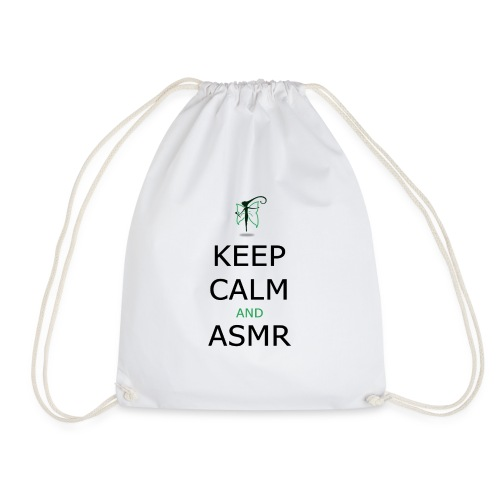 KEEP CALM AND ASMR - Sacca sportiva