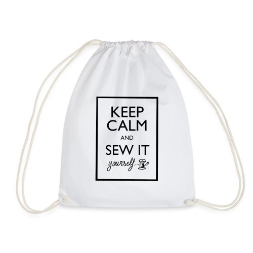 Keep Calm and sew it yourself - Sac de sport léger