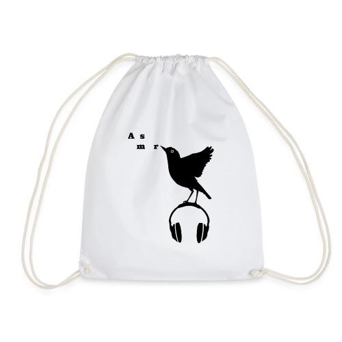 Musta Asmr-lintu ilman tekstiä - Jumppakassi