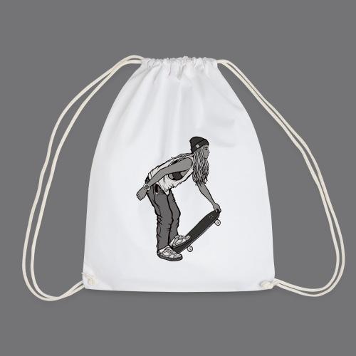 SKATEBOARDING Tee Shirt - Drawstring Bag
