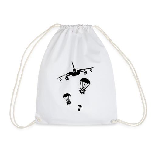 gift peace airstrick - Drawstring Bag