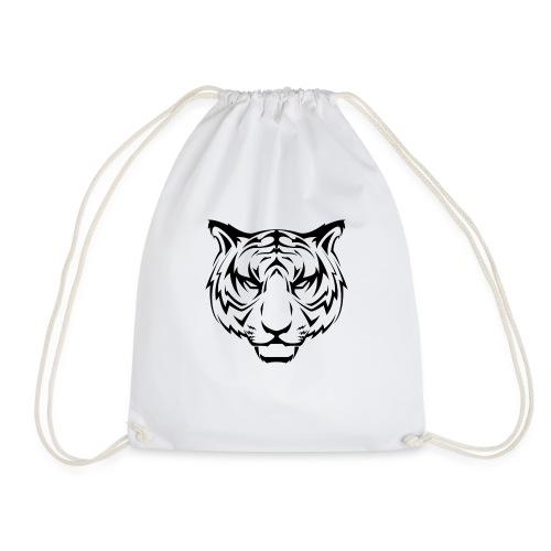 Tiger Muster - Turnbeutel