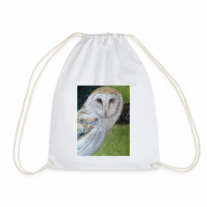 Curious Scottish owl - Drawstring Bag