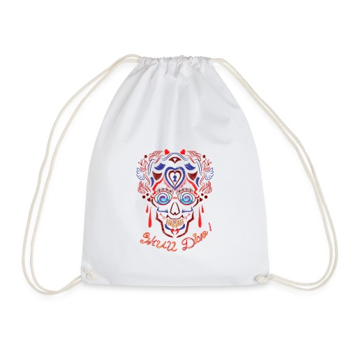 Skull Tattoo Art - Drawstring Bag