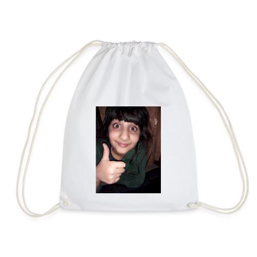 My sis face :-) - Drawstring Bag