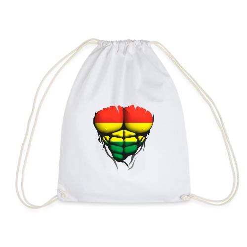 lituanie drapeau torse corps muscle abdo - Sac de sport léger