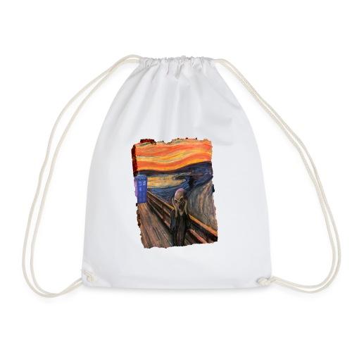 Screaming Tardis - Drawstring Bag