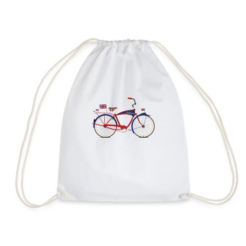 British Bicycle - Drawstring Bag