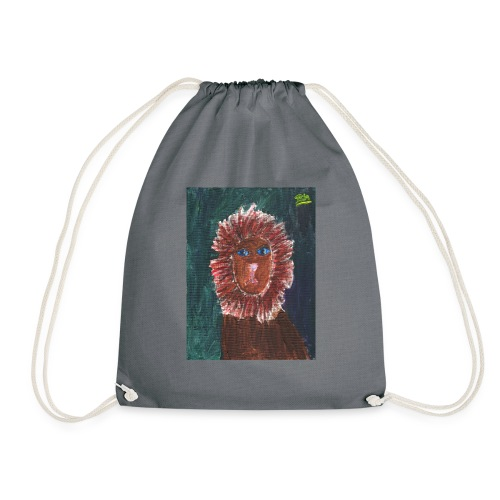 Lion T-Shirt By Isla - Drawstring Bag