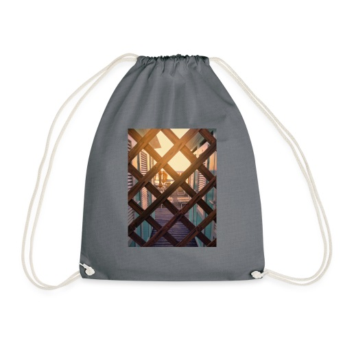 Beach - Drawstring Bag