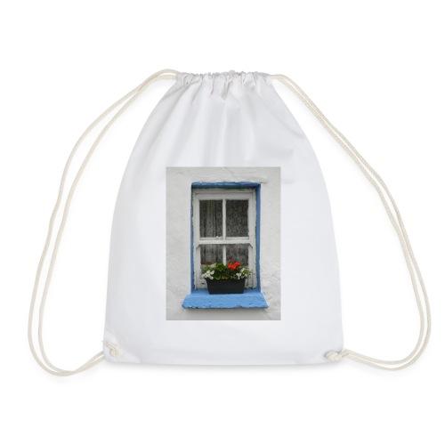 Cashed Cottage Window - Drawstring Bag