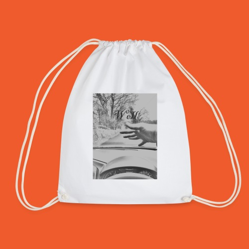 Well wave T-Shirt - Drawstring Bag