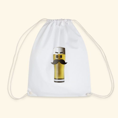 Beermoticon Mexican Lager - Drawstring Bag