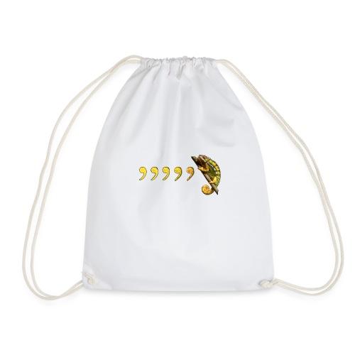 Comma Chameleon - Drawstring Bag