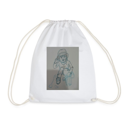 Camiseta con retrato - Mochila saco