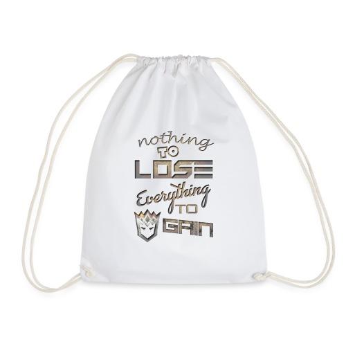 Nothign-to-Lose-light - Drawstring Bag