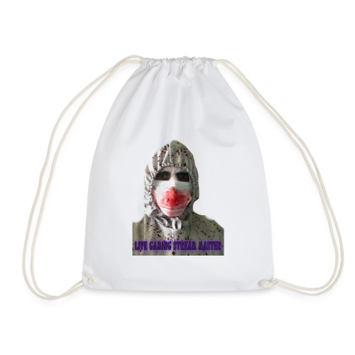zombie live gaming stream master - Drawstring Bag