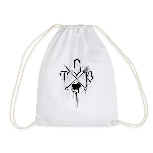 Small studio logo (black) - Drawstring Bag