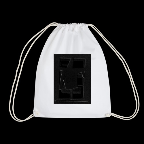 Dark Negative - Drawstring Bag