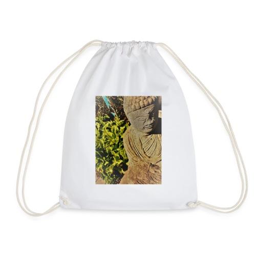 Garden Buddha - Drawstring Bag