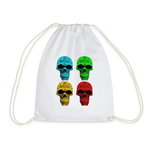 4 Skulls - Drawstring Bag